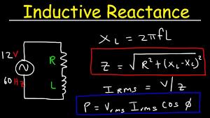 inductive reactance impedance power factor ac circuits physics