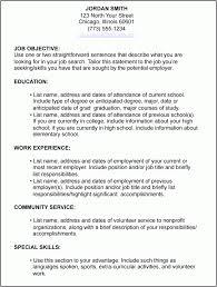 How To Type A Resume For A Job Gojiberrycilegi Com