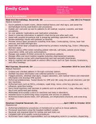 Resume Examples For Medical Assistant Enchanting 48 Free Medical Assistant Resume Templates
