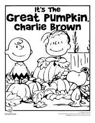 Charlie Brown Thanksgiving Coloring Pages Gewerkeinfo
