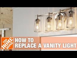 how to install vanity lights the home