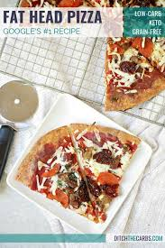 this is the fat head pizza recipe and it just got better now with