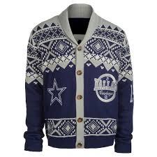 Dallas Cowboys Cardigan Sweater Nfl Ugly
