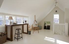 to decorate rooms with slanted ceilings