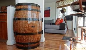 furniture made from wine barrels. Double Door Storage Cabinet- Walnut Stain \u0026 Gloss Finish Furniture Made From Wine Barrels