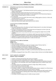 Manufacturing Engineer Resume Examples Lead Manufacturing Engineer Resume Samples Velvet Jobs