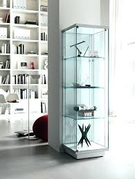 display cabinet with glass doors modern cabinets uk case sliding door track white corner display cabinet with