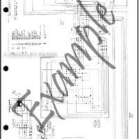 1982 toyota land cruiser bj60 electrical wiring diagram original 4 1982 toyota land cruiser fj60 electrical wiring diagram original 4 door gas