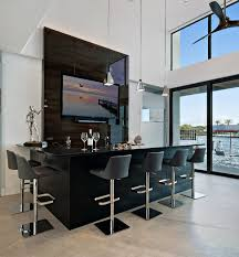 contemporary home bar furniture. Perfect Furniture Modern Waterfront Living Contemporaryhomebar With Contemporary Home Bar Furniture R