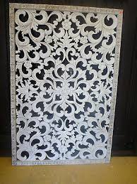 carved wall art french provincial hand carved white wood wall art antique white wash panel bed carved wall art