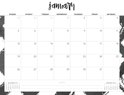 Calendar Template Monthly 2020 Free 2020 Printable Calendars 51 Designs To Choose From