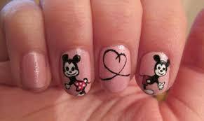 Manikúra Mickey Mouse Veselý Moment Dětství Na Vašich Nehty