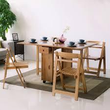modern space saving solid wood folding
