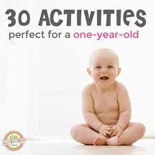 30+ 1 Year Old Activities - Kids Activities