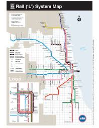 online version  l map of chicago  maps  pinterest