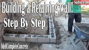 retaining wall easy guide diy