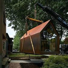 metal siding shed outfitted with a desk storage and wiring the site s is equipped for