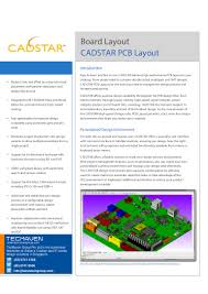 Signal Integrity In Pcb Design Ppt Cadstar Features And Benefits About Printed Circuit Board