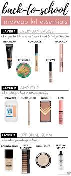 back to makeup kit essentials