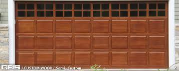 wood garage door texture. Custom Wood Garage Door From GEIS In Milwaukee Wood Garage Door Texture