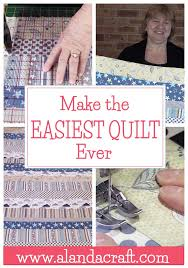 Quilting for Beginners - The Easiest Quilt Ever - Alanda Craft & The Easiest Quilt Ever - Perfect for beginners Adamdwight.com