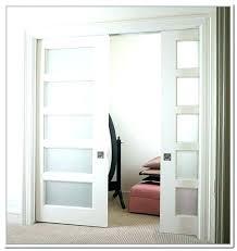 glass panelled interior doors 3 panel glass door new interior glass door in bamboo decorative family