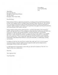 Undergraduate Cover Letter Examples Image Collections Letter