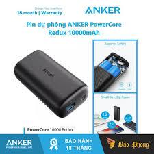 Pin Dự Phòng PD Anker A1239 PD 18W + 1 IQ 12W New Redux dung lương 10.000  mAh: Mua bán trực tuyến Pin sạc dự phòng với giá rẻ