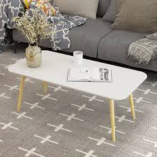 nordic small coffee table living room small round table rectangular three color optional