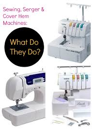 Sewing Machine And Overlocker Combined