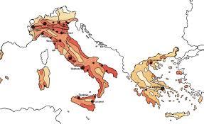 Содержание Рисунок 1 Плотность населения Южной Европы