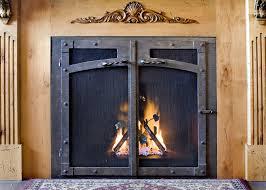 ironhaus fireplace doors best home interior