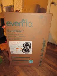evenflo sureride dlx convertible car seat review