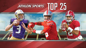 College Football Top 25 Rankings For 2017