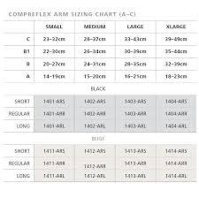 Compreflex Sizing Chart Sigvaris Compreflex Arm