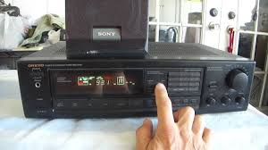 onkyo quartz synthesized tuner amplifier r1. how work onkyo tx-900 quartz synthesized tuner amplifier receiver r1
