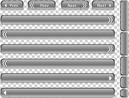Web Button Website Buttons To Move The Bar Png Clipart