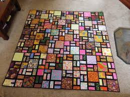 Asian Scrappy Road Quilt | Quilt Ideas | Pinterest | Stained glass ... & Asian Scrappy Road Quilt Adamdwight.com