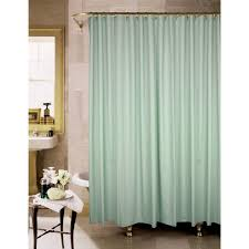 this full sized shower curtain is ideal for tub style showers and open door showers