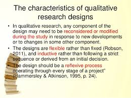 Components of a qualitative research paper Scientific   Academic Publishing