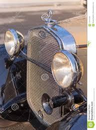 American Restoration Lights Out Vintage Oldtimer Ford Model A Editorial Photography Image