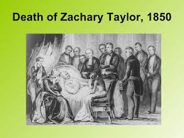 Image result for president Zachary Taylor funeral