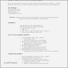 Resume Examples For College Students With Work Experience Best Of Custom Resume Ideas For No Work Experience