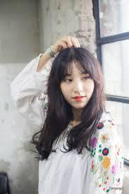 韓国現地ヘアスタイル韓国女性人気ヘア デジタルパーマウェーブ 韓国