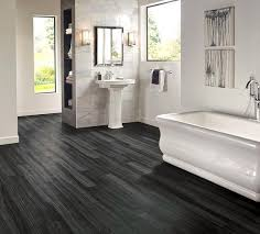 bathroom vinyl flooring. Charming Dark Bathroom Vinyl Flooring Hardwood Grey And Black Plank Which Is Water Resistant.jpg
