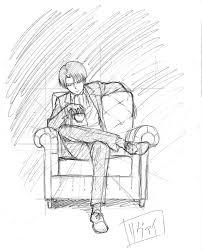 ソファに座ったリヴァイの小話 ユニオン広報ブログ