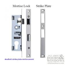 glass door strike plate best plate 2018 deadbolt strike plate reinforcement of how to pick a