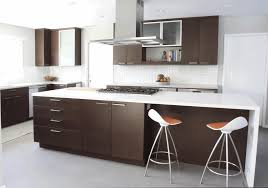 kitchen best color for cabinets in a small kitchen sleek white dining chair stainless steel