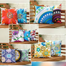 Image Is Loading Water-Resistant-Canvas-Outdoor-Cushions-Water-Resistant -Scatter-  U