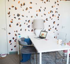how to paint a leopard print wall